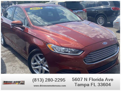 2014 Ford Fusion for sale at Drive Now Motors USA in Tampa FL