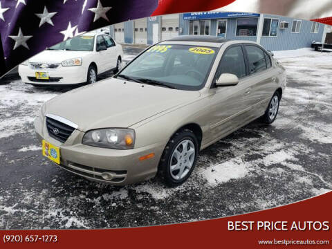 2005 Hyundai Elantra for sale at Best Price Autos in Two Rivers WI