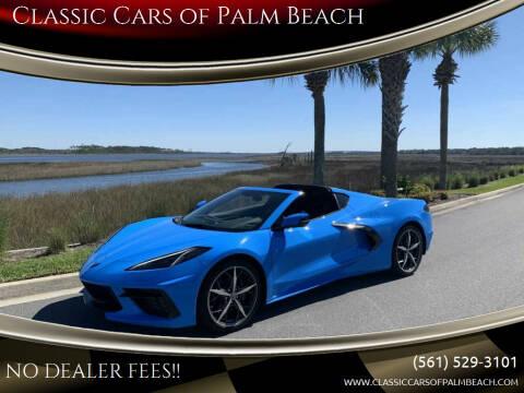 2021 Chevrolet Corvette for sale at Classic Cars of Palm Beach in Jupiter FL