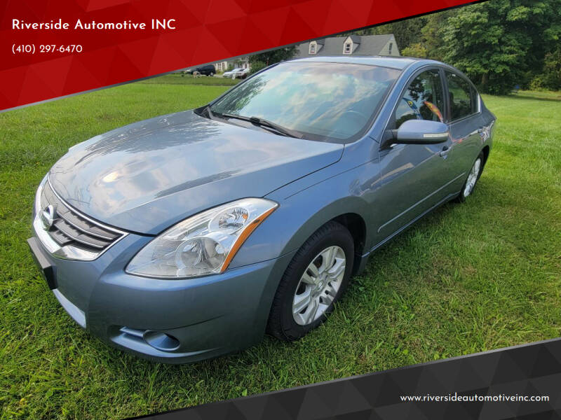 2012 Nissan Altima for sale at Riverside Automotive INC in Aberdeen MD