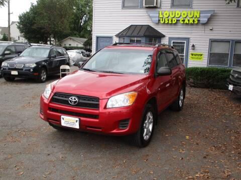 2012 Toyota RAV4 for sale at Loudoun Used Cars in Leesburg VA