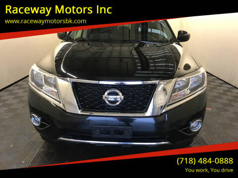 2015 Nissan Pathfinder for sale at Raceway Motors Inc in Brooklyn NY