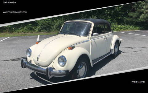1977 Volkswagen Beetle for sale at Clair Classics in Westford MA