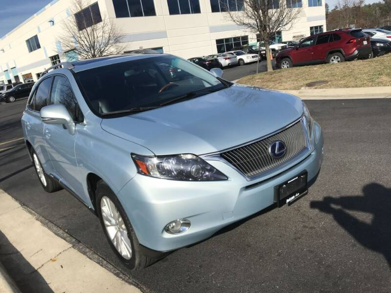 2010 Lexus RX 450h for sale at Dotcom Auto in Chantilly VA
