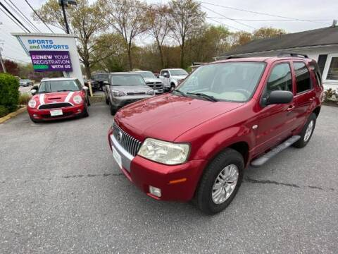 2007 Mercury Mariner for sale at Sports & Imports in Pasadena MD