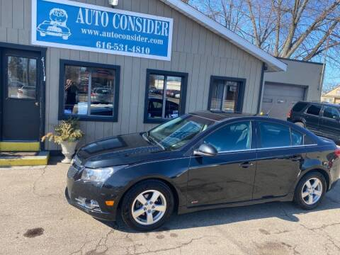 2014 Chevrolet Cruze for sale at Auto Consider Inc. in Grand Rapids MI