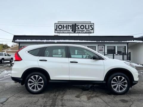 2016 Honda CR-V for sale at John Solis Automotive Village in Idaho Falls ID