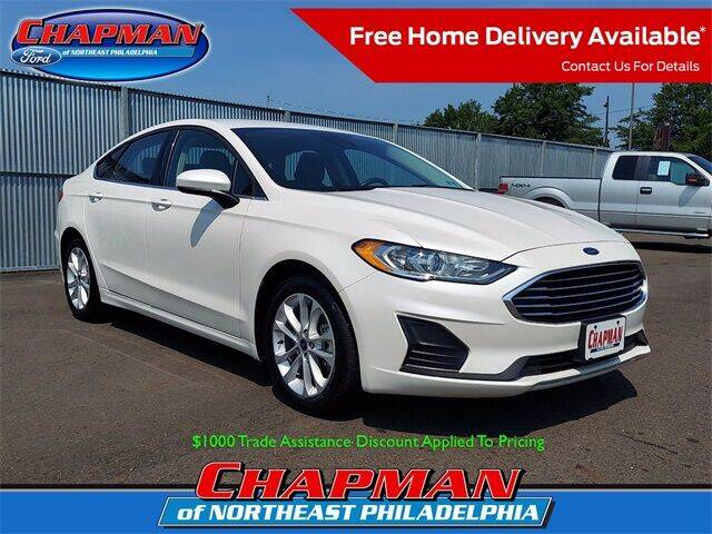 2020 Ford Fusion Hybrid for sale at CHAPMAN FORD NORTHEAST PHILADELPHIA in Philadelphia PA