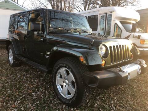 2011 Jeep Wrangler Unlimited for sale at Creekside Automotive in Lexington NC