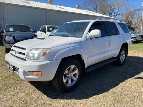 2005 Toyota 4Runner for sale at M & M Motors in Angleton TX