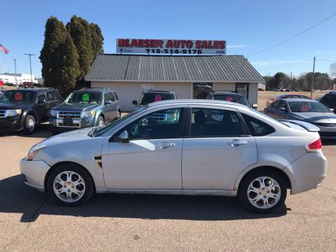2008 Ford Focus for sale at BLAESER AUTO LLC in Chippewa Falls WI