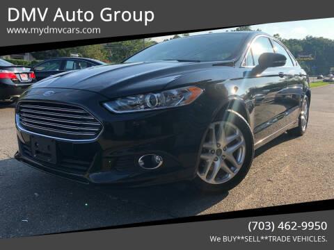 2015 Ford Fusion for sale at DMV Auto Group in Falls Church VA