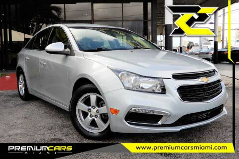 2015 Chevrolet Cruze for sale at Premium Cars of Miami in Miami FL