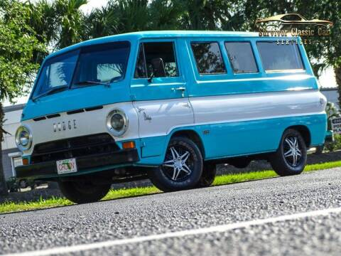 1966 Dodge Sportsman Van for sale at SURVIVOR CLASSIC CAR SERVICES in Palmetto FL
