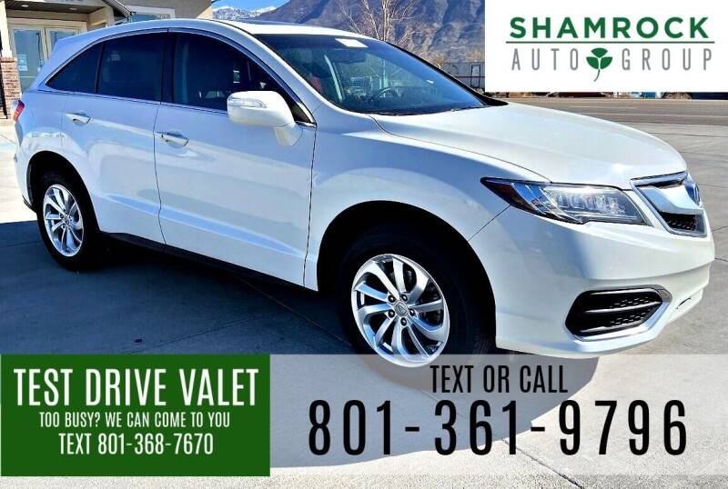 2018 Acura RDX for sale at Shamrock Group LLC #1 in Pleasant Grove UT
