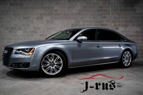 2013 Audi A8 L for sale at J-Rus Inc. in Macomb MI