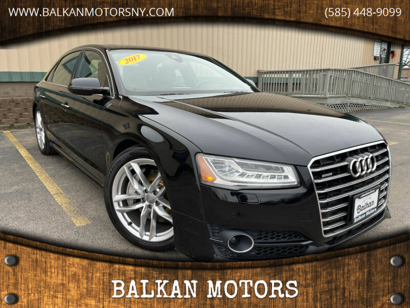 2017 Audi A8 L for sale at BALKAN MOTORS in East Rochester NY