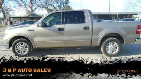 2004 Ford F-150 for sale at J & F AUTO SALES in Houston TX
