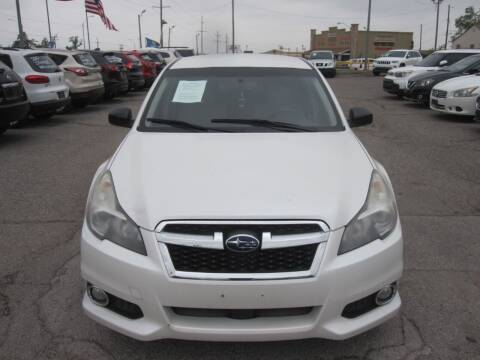 2014 Subaru Legacy for sale at T & D Motor Company in Bethany OK