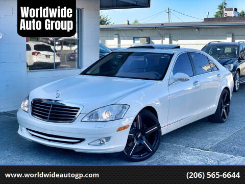 2007 Mercedes-Benz S-Class for sale at Worldwide Auto Group in Auburn WA
