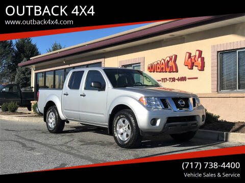 2012 Nissan Frontier for sale at OUTBACK 4X4 in Ephrata PA