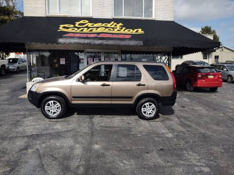 2002 Honda CR-V for sale at Credit Connection Auto Sales Inc. YORK in York PA