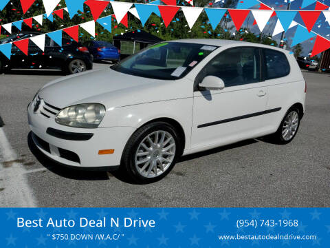2007 Volkswagen Rabbit for sale at Best Auto Deal N Drive in Hollywood FL