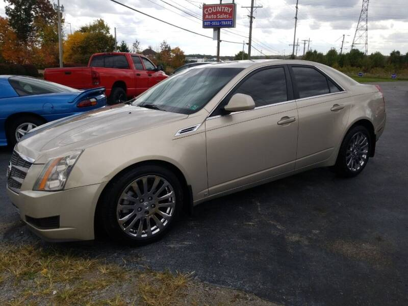 2009 Cadillac CTS for sale at Country Auto Sales in Boardman OH