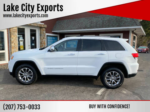 2015 Jeep Grand Cherokee for sale at Lake City Exports in Auburn ME