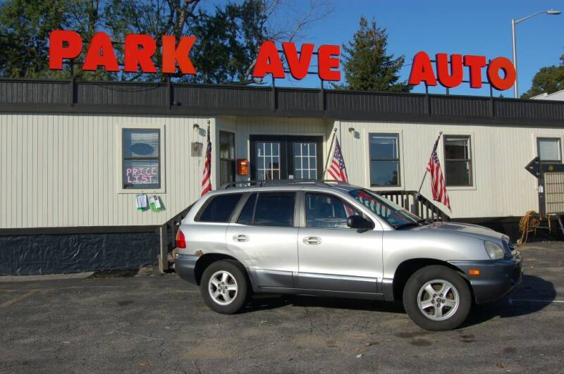 2004 Hyundai Santa Fe for sale at Park Ave Auto Inc. in Worcester MA