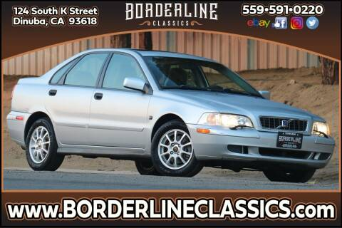 2004 Volvo S40 for sale at Borderline Classics in Dinuba CA