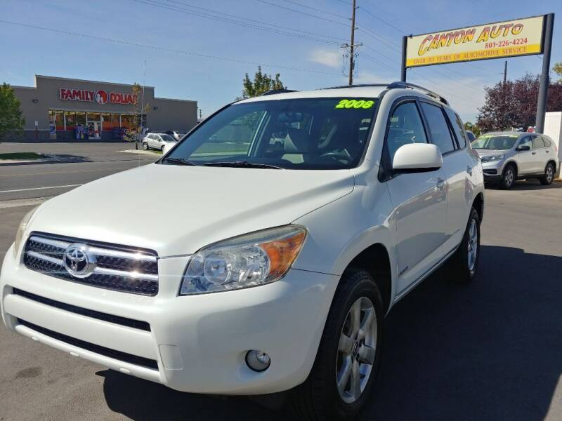 2008 Toyota RAV4 for sale at Canyon Auto Sales in Orem UT