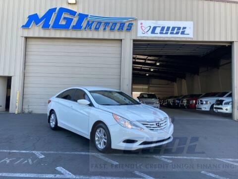 2013 Hyundai Sonata for sale at MGI Motors in Sacramento CA