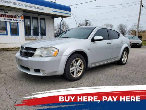 2010 Dodge Avenger for sale at E.L. Davis Enterprises LLC in Youngstown OH