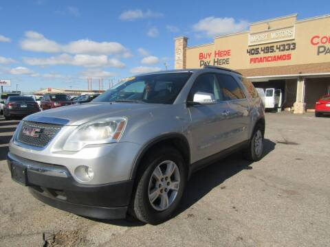 2008 GMC Acadia for sale at Import Motors in Bethany OK