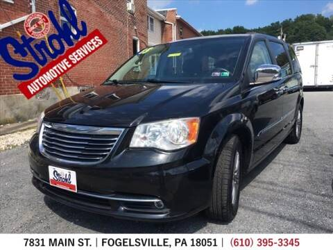 2013 Chrysler Town and Country for sale at Strohl Automotive Services in Fogelsville PA