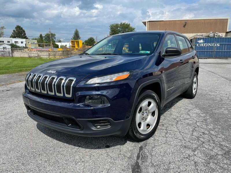 2014 Jeep Cherokee for sale at Capri Auto Works in Allentown PA