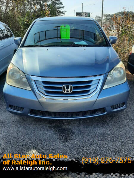 2009 Honda Odyssey for sale at All Star Auto Sales of Raleigh Inc. in Raleigh NC