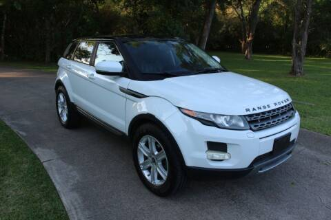 2013 Land Rover Range Rover Evoque for sale at Clear Lake Auto World in League City TX