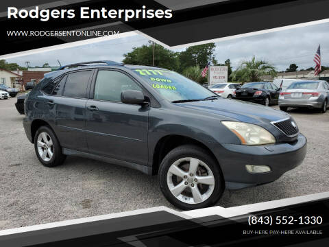 2005 Lexus RX 330 for sale at Rodgers Enterprises in North Charleston SC