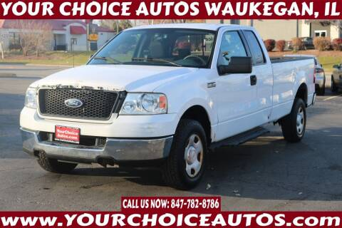 2005 Ford F-150 for sale at Your Choice Autos - Waukegan in Waukegan IL