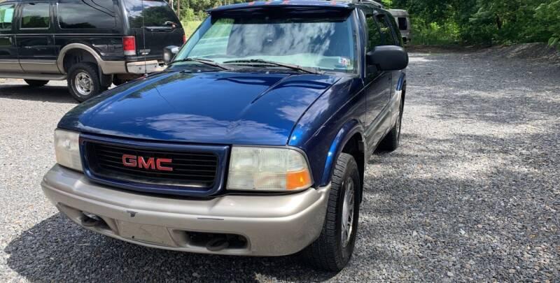 1999 GMC Envoy for sale at JM Auto Sales in Shenandoah PA