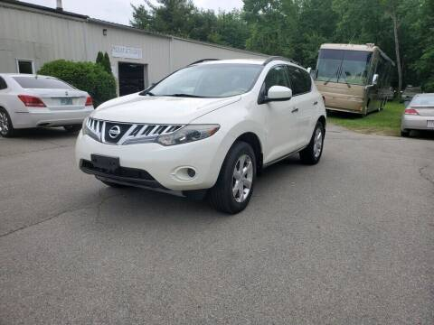 2009 Nissan Murano for sale at Pelham Auto Group in Pelham NH