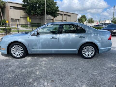 2011 Ford Fusion Hybrid for sale at Carlando in Lakeland FL