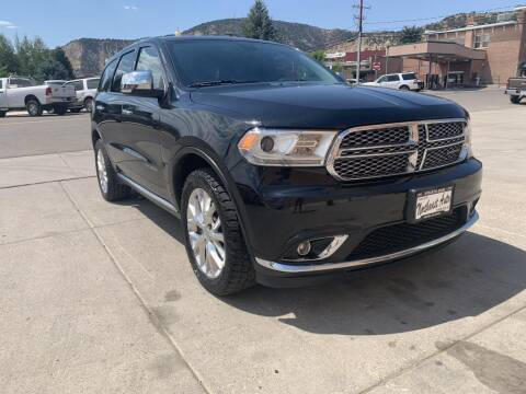2015 Dodge Durango for sale at Northwest Auto Sales & Service Inc. in Meeker CO