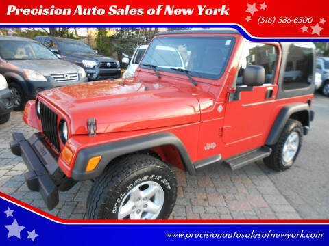 2006 Jeep Wrangler for sale at Precision Auto Sales of New York in Farmingdale NY