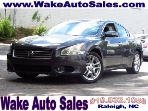 2010 Nissan Maxima for sale at Wake Auto Sales Inc in Raleigh NC