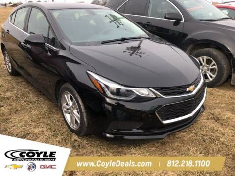 2018 Chevrolet Cruze for sale at COYLE GM - COYLE NISSAN - Coyle Nissan in Clarksville IN