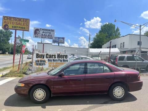 2000 Buick Century for sale at Cherokee Auto Sales in Knoxville TN