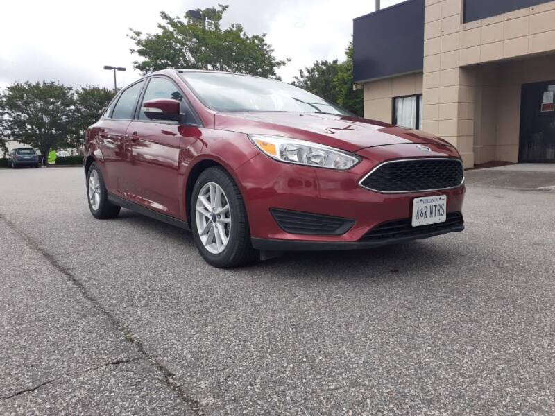 2017 Ford Focus for sale at A&R MOTORS in Portsmouth VA